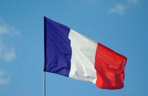 Frankreichs Flagge